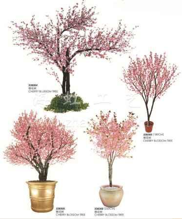 上海仿真桃花树规划