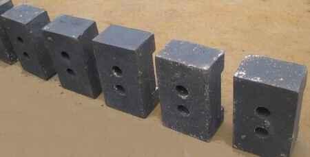 高铬制砂机锤头生产