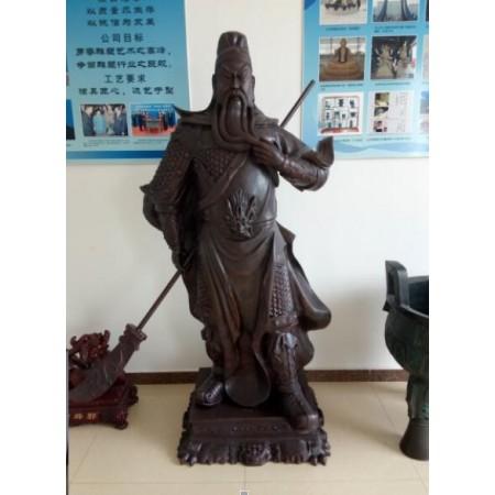 河北关公雕塑定制